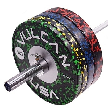 Vulcan Absolute Training Kg Bumper Plates & Bar Set