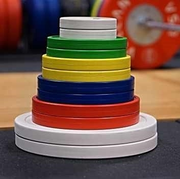Vulcan V-Lock 1 kg Rule Weightlifting Disc Set