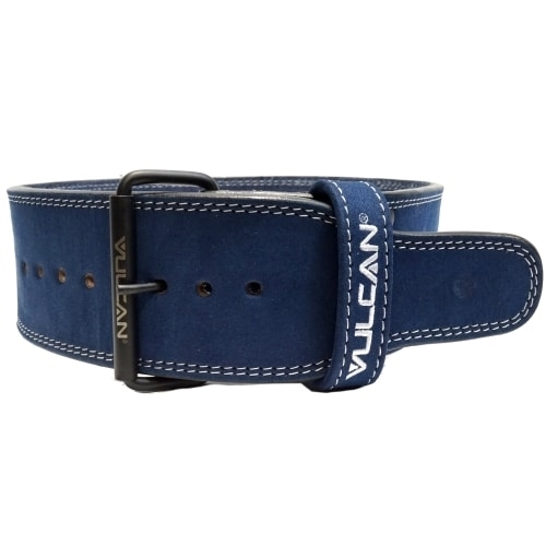 Vulcan Blue Leather Powerlifting Belt