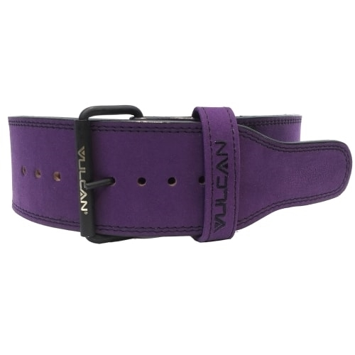 Vulcan Purple Leather Powerlifting Belt