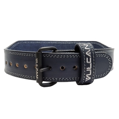 Vulcan Blue Leather Weightlifting Belt