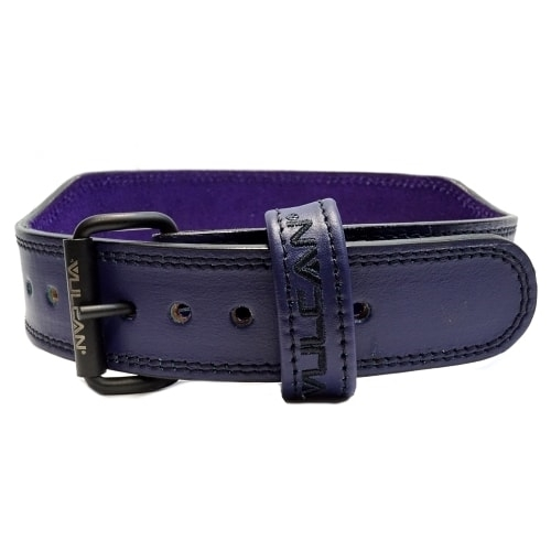 Vulcan Purple Leather Weightlifting Belt