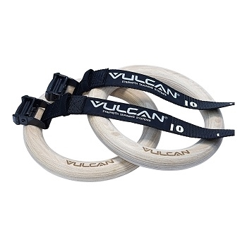 Vulcan Elite  Wood Gymnastics Rings