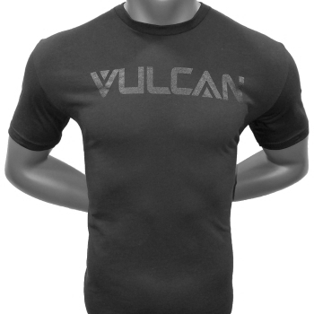Vulcan Logo T-Shirt - Black
