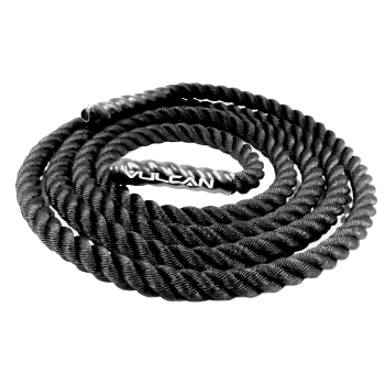 "1.5"" Black Poly Plus Battling Rope"