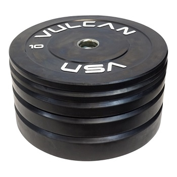 Vulcan Strength 260 lb Bumper Plate Set