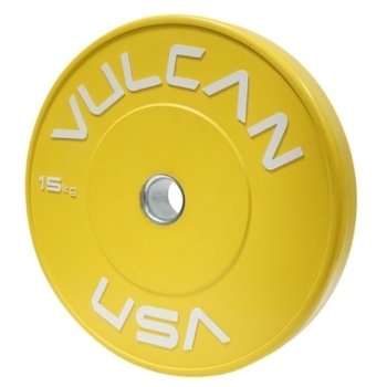 Vulcan Training Bumper Plates Pair - 15 kg