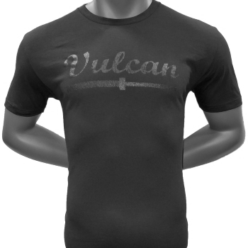 Vulcan Abused Barbell - T Shirt-Black