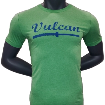 Vulcan Abused Barbell - T Shirt-Green