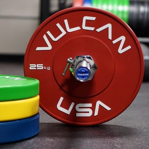 Kg Bumper Plates  in Kilograms - Vulcan Color Kg Training