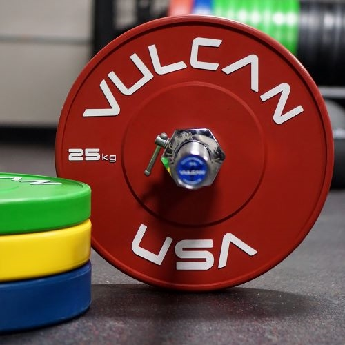 Bumper Plates in Kilograms - Colored Training