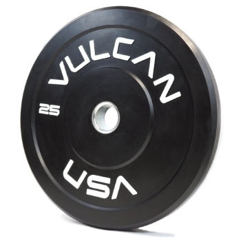 Black 25lb Bumper Plate Pair - PRE ORDER [ETA 8/20] SOLD OUT