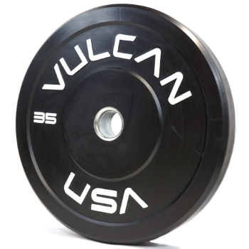 Black 35lb Bumper Plate Pair - PRE ORDER [ETA 8/20] SOLD OUT
