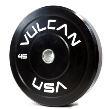 Black 45lb Bumper Plate Pair - PRE ORDER [ETA 8/20] SOLD OUT