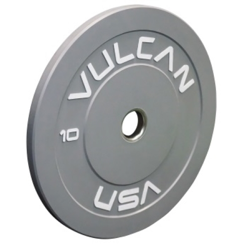 Vulcan 10lb Color Bumper Plate - Gray