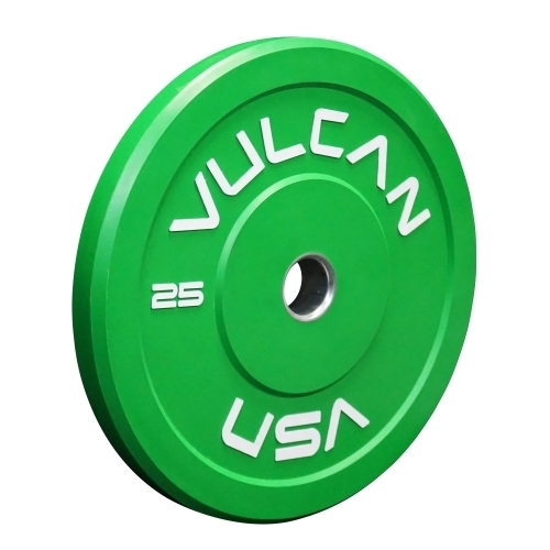 Green 25lb Bumper Plate Pair - PRE ORDER [SOLD OUT]