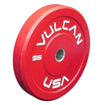 Red 55lb Bumper Plate Pair - PRE ORDER [SOLD OUT]