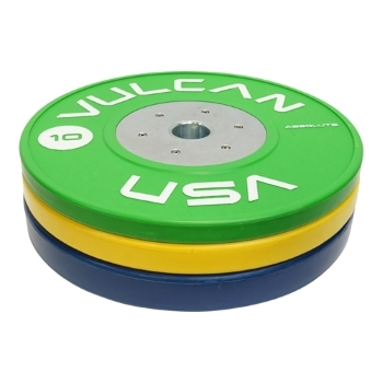 Competition Bumper Plates - 90 kg Set Vulcan