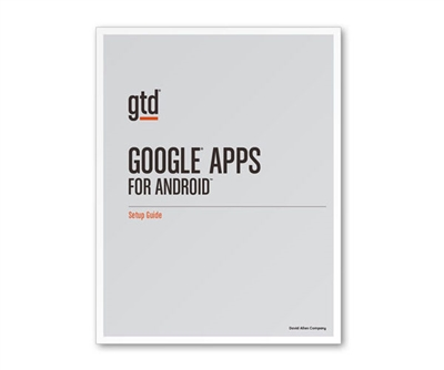 Google Apps for Android Setup Guide