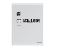 GTD Installation Setup Guide