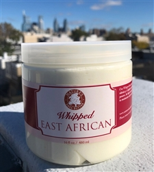 Whipped East African Shea Butter