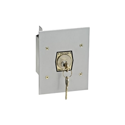 1KFX - Exterior Tamperproof Open-Close Key Switch Flush Mount