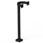 "Pedestal Pro - 42"" Dual Headed, Side-by-Side Pedestal"