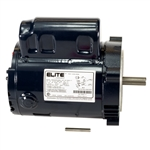 K20-1050C-1T 1/2HP Motor, 1PH, 115V C Mount