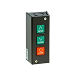 PBS-3 - Nema 1 Three Button Interior Surface Mount Control Station