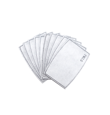 PM 2.5 ACTIVATED CARBON FILTER - SET OF 50 FILTERS