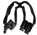pro carry leather shoulder holster