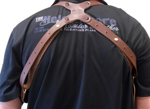 Pro Carry Leather Shoulder Holster   Shoulder Gun Holster