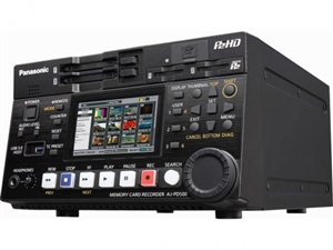 AJ-PD500 Half Rack P2 HD Recorder