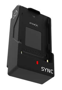 Modular Expansion for Ninja V for wireless timecode, genlock and Bluetooth control with exchange battery power life functionality