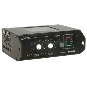FMX-22 - 2 Channel Portable Mixer