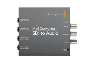 Blackmagic Mini Converter SDI to Audio