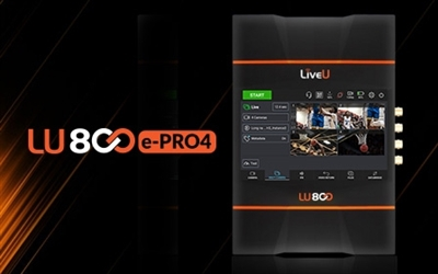 LU800, Multi-Camera, 4K-SDI, HDR encoder - No internal modems