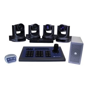 PTZOptics Producer Plus 12X Live Streaming Kit (4 Camera Maximum)