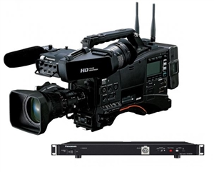 "AJ-PX380 1/3"" AVC-ULTRA Shoulder Mount Camcorder w/Studio Base Station"
