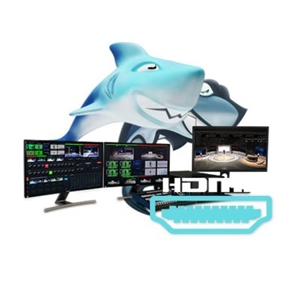 Reckeen 3D Studio &LITE HDMI Virtual 3D studio 4K with 4xHDMI inputs card with LITE License