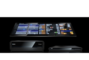 TriCaster TC1 DELUXE Bundle (TriCaster TC1 2RU, NC1 I/O and 2 Stripe Panel)