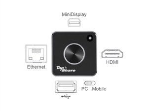 Wireless Presentation System, one TapShare Pod