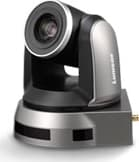 20x Optical Zoom, 1080p Hi-Definition PTZ IP Camera, 60fps Black Color