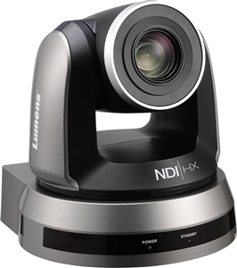 20x Optical Zoom, 1080p Hi-Definition PTZ IP Camera, 60fps, NDI, Black Color