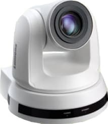 20x Optical Zoom, 1080p Hi-Definition PTZ IP Camera, 60fps White Color