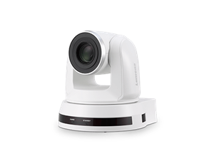 20x Optical Zoom Pan/Tilt/Zoom (PTZ) Video Conferencing Camera; White Color