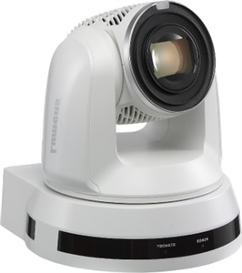 30x Optical Zoom 4K, IP PTZ Video Camera; White Color