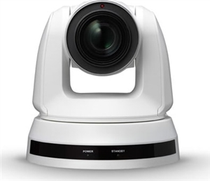 12x Optical Zoom, 4K Pan/Tilt/Zoom (PTZ) Video Camera; White Color