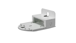 Wall Mount for PTZ Vide Cameras, White Color