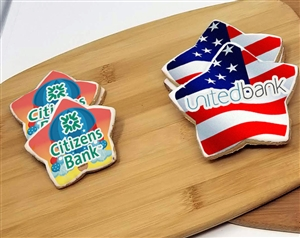 Liberty Star Logo Sugar Cookies